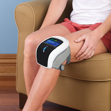 The Triple Therapy Knee Pain Reliever.