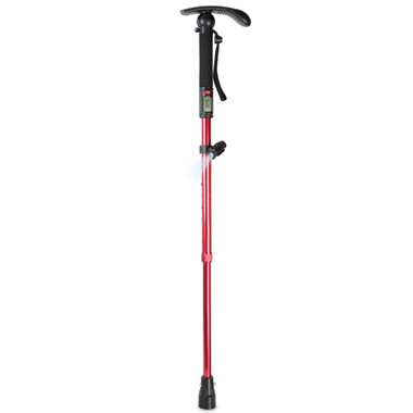 The Pedometer Walking Stick.