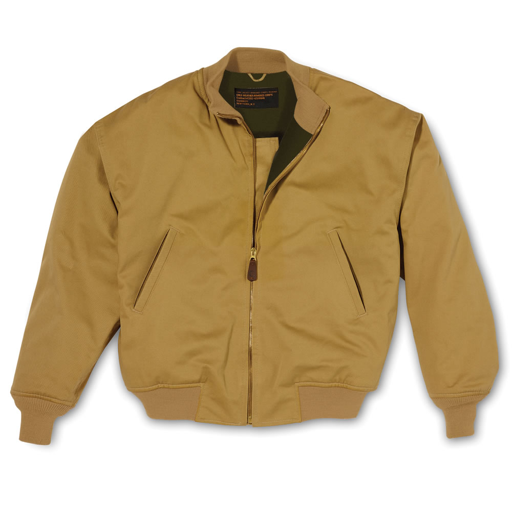 The Authentic WWII U S  Army Tanker Jacket1