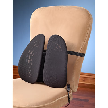 The Dual Cradle Lumbar Support.