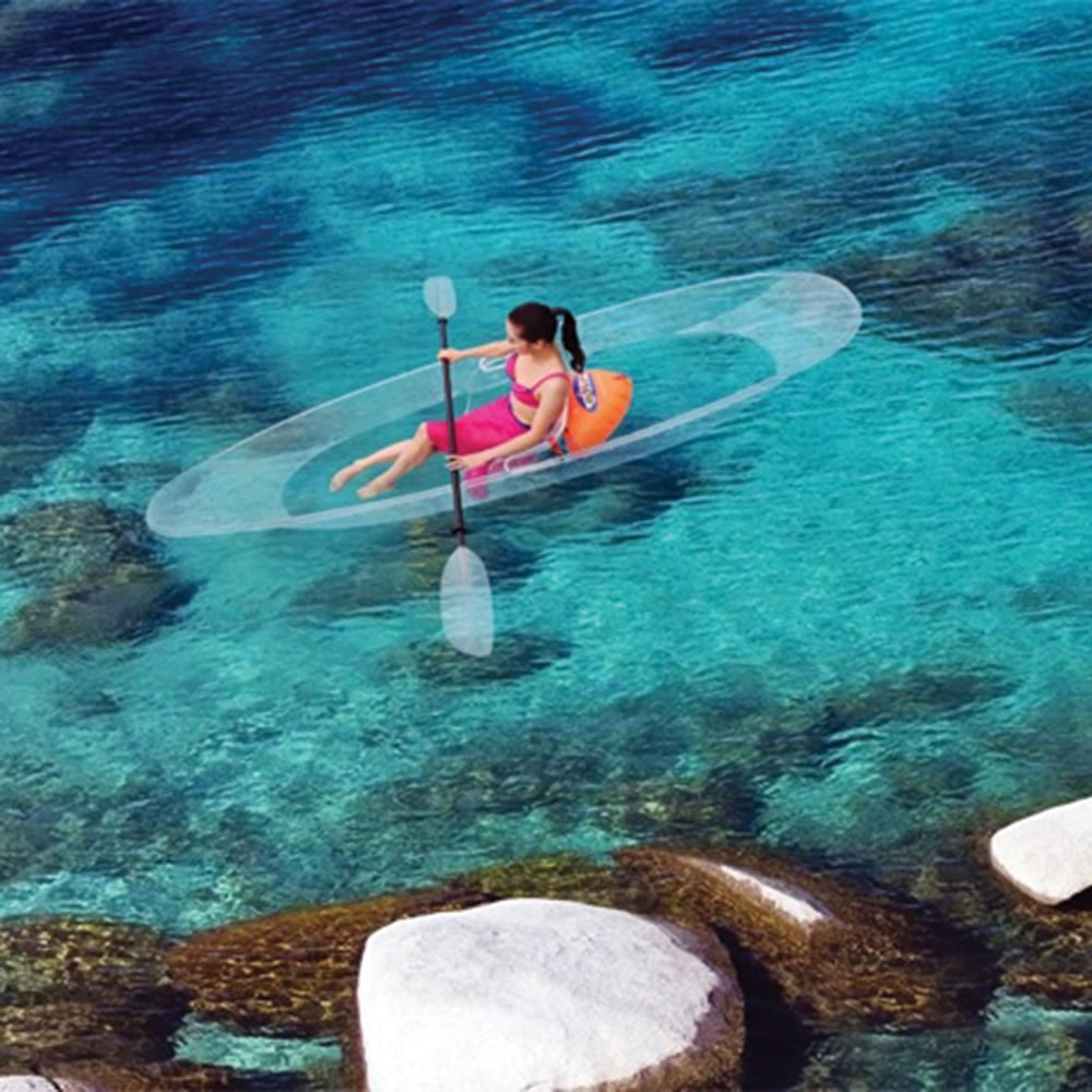 The Transparent Canoe Kayak 3