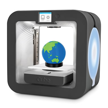 The Two Color 3D Printer.
