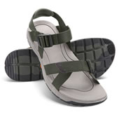 Mens Slip Proof Sandals Olive 10