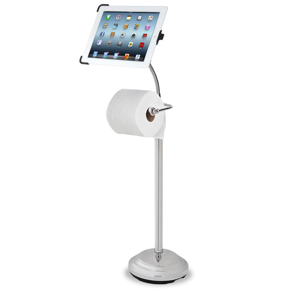 The iPad Commode Caddy 2