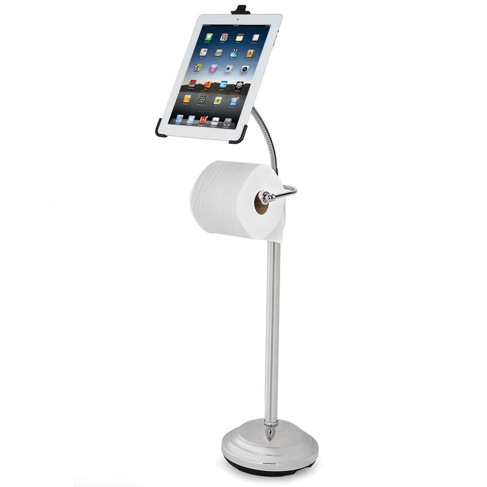 The iPad Commode Caddy 1