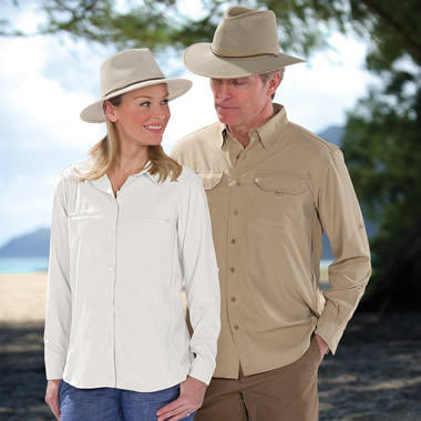 The Gentleman's Ventilated Sun Protection Shirt.
