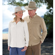 The Lady's Ventilated Sun Protection Shirt.