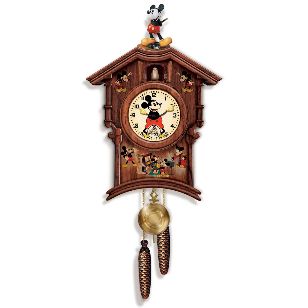 The Mickey Mouse Cuckoo Clock 1