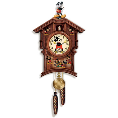 The Mickey Mouse Cuckoo Clock.