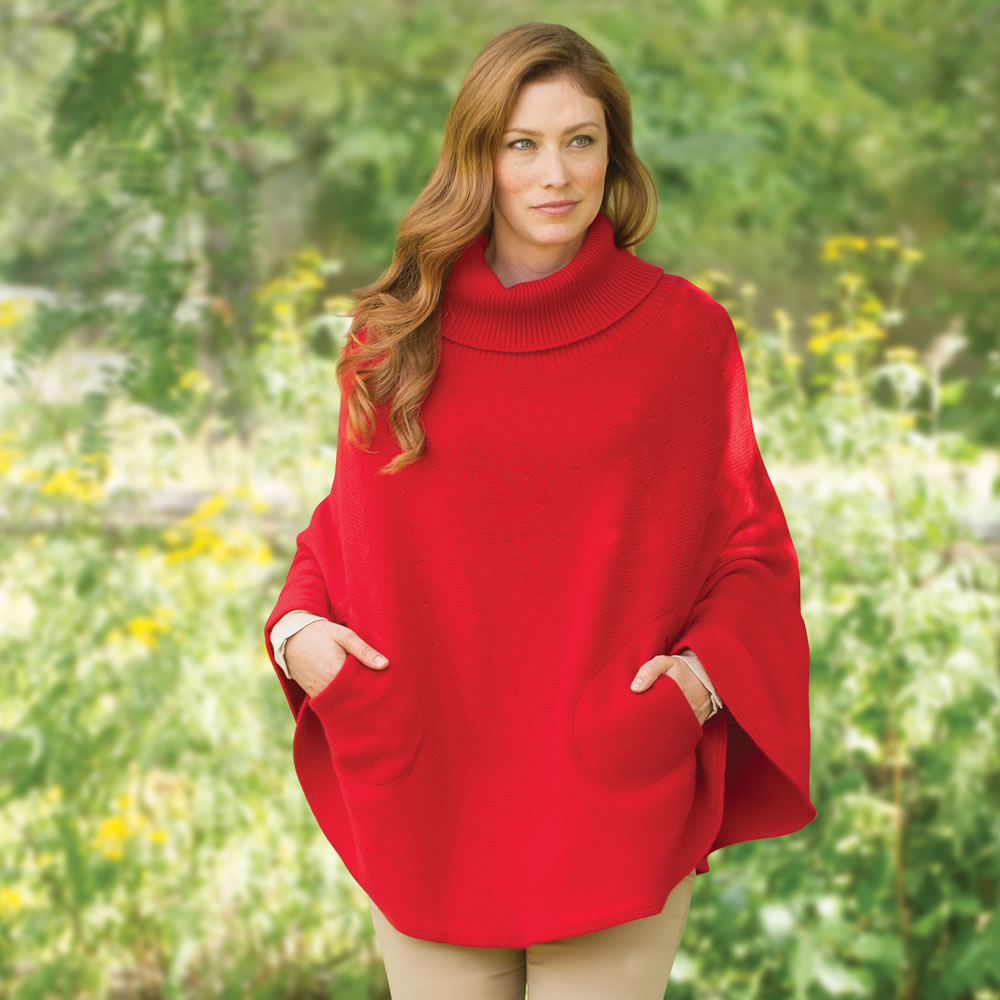 The Hawick Cashmere Poncho 2