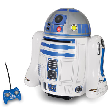 The RC Inflatable R2-D2.