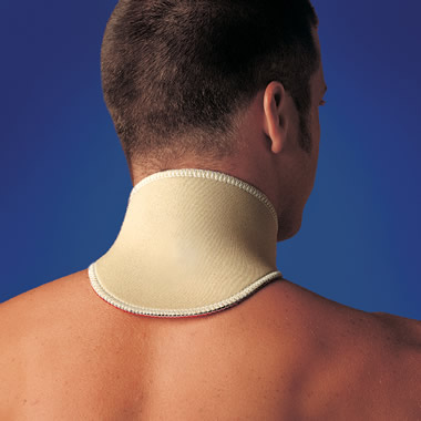 The Pain Relieving Compression Neck Wrap.