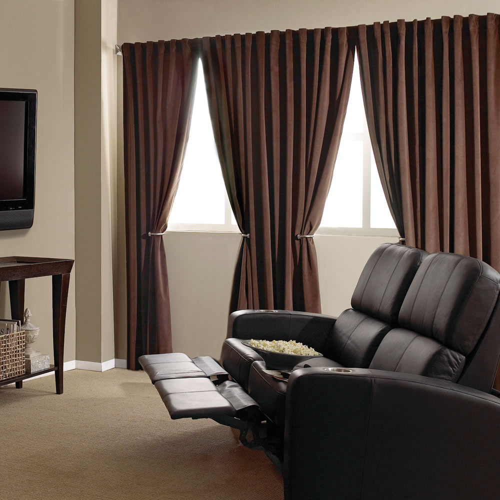 The Home Theater Blackout Drapes 9
