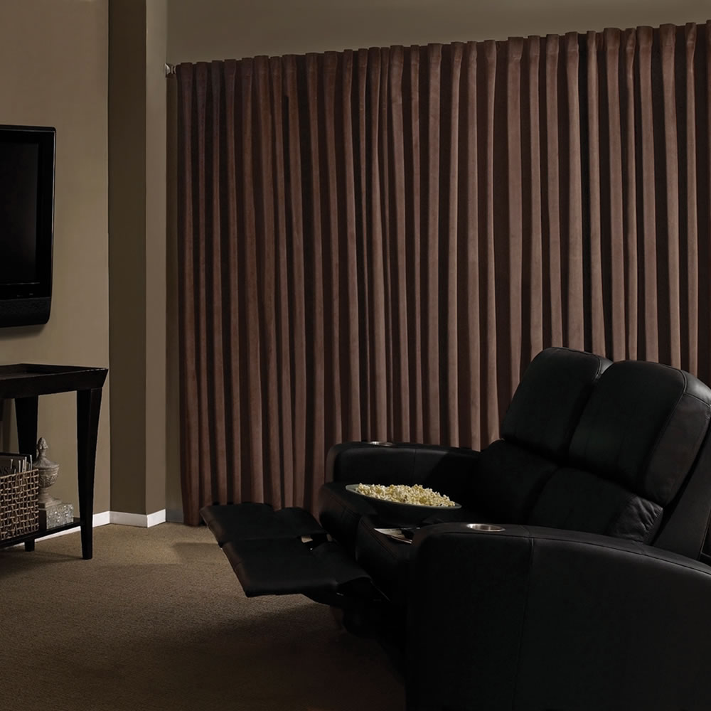 The Home Theater Blackout Drapes 8