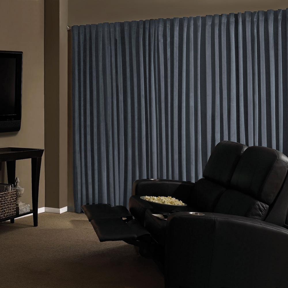 The Home Theater Blackout Drapes 2