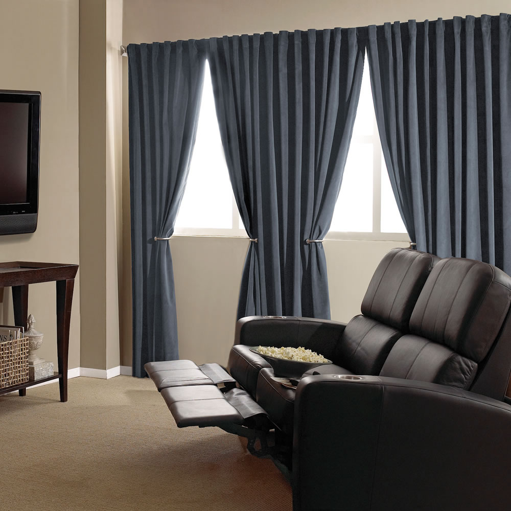 The Home Theater Blackout Drapes 3