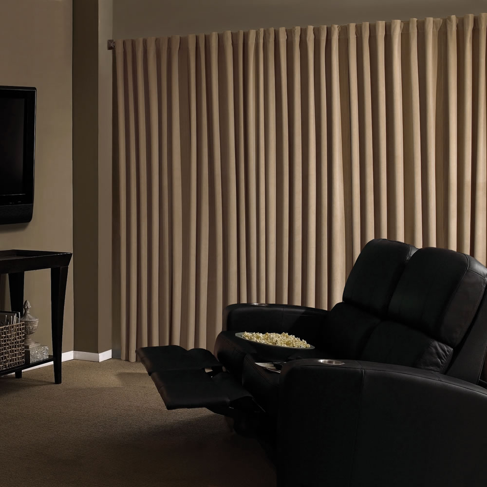 The Home Theater Blackout Drapes 5