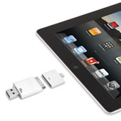 The Only Read Or Write iPad Flash Drive.