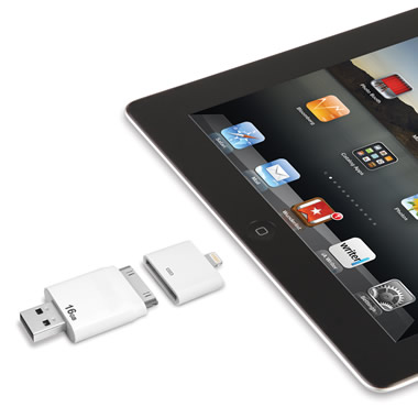 The Only Read And Write iPad Flash Drive. (16 GB)