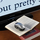 The Wireless Page To TV Magnifier.