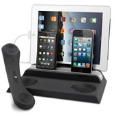 The Bluetooth Handset Quad Charger.