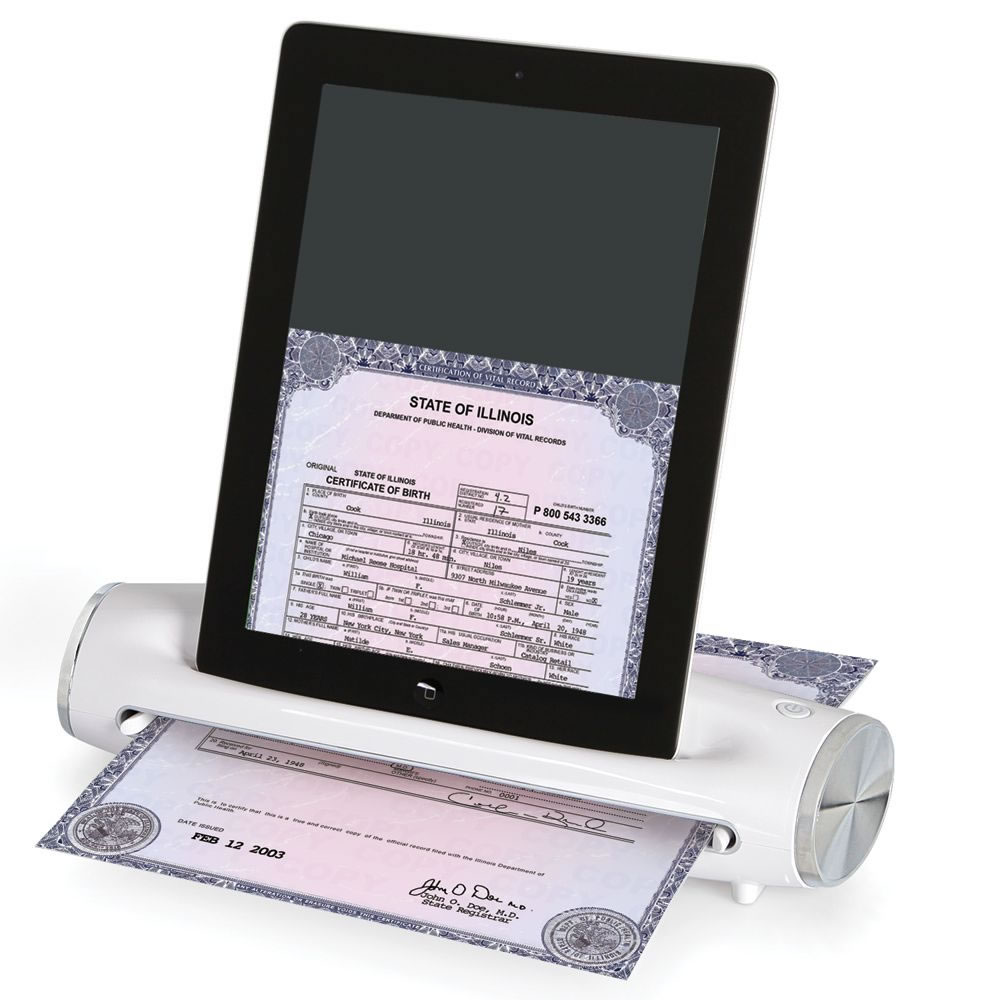 The Preserve Your Memories iPad Scanner 1