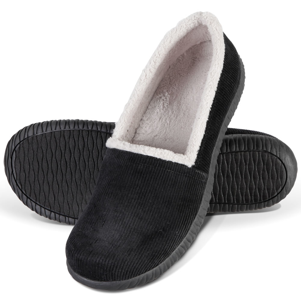 The Lady's Indoor/Outdoor Plantar Fasciitis Closed Back Slippers 2