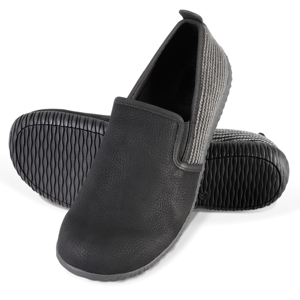 The Gentleman's Closed Back Indoor/Outdoor Plantar Fasciitis Slippers 1