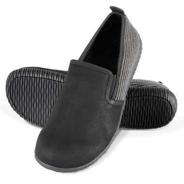 The Gentleman's Closed Back Indoor/Outdoor Plantar Fasciitis Slippers.