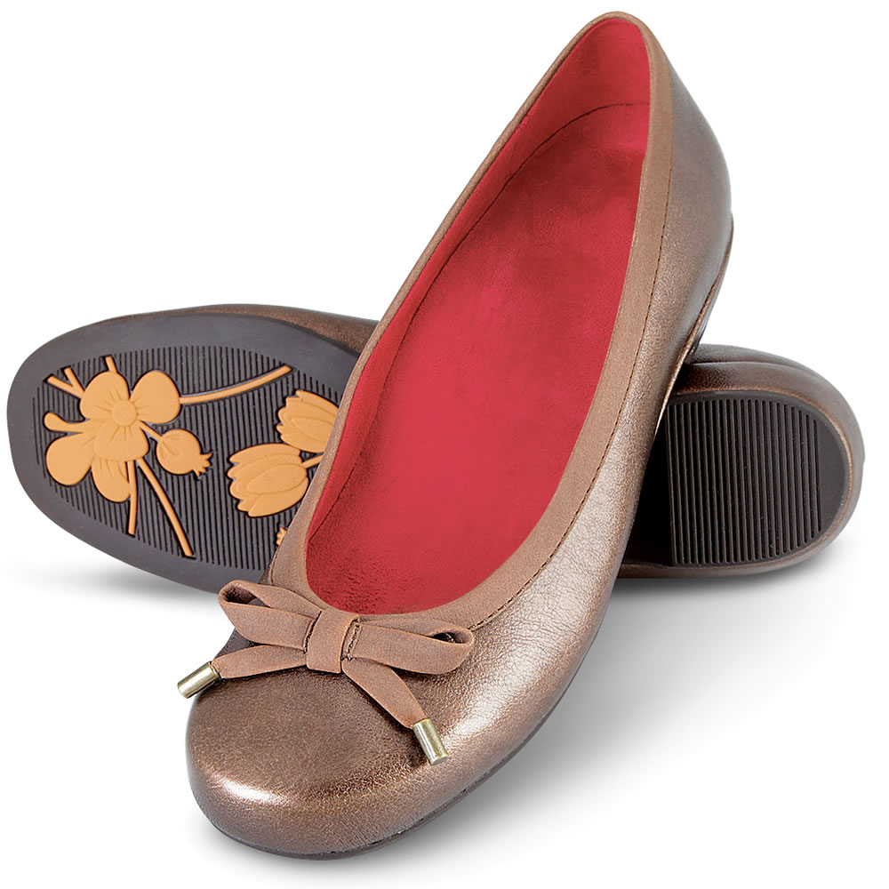 The Lady's Plantar Fasciitis Ballet Flats 1