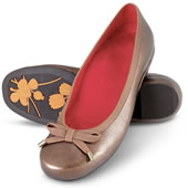 The Lady's Plantar Fasciitis Ballet Flats.