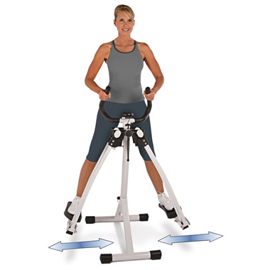 The Only Omnidirectional Thigh Trainer.