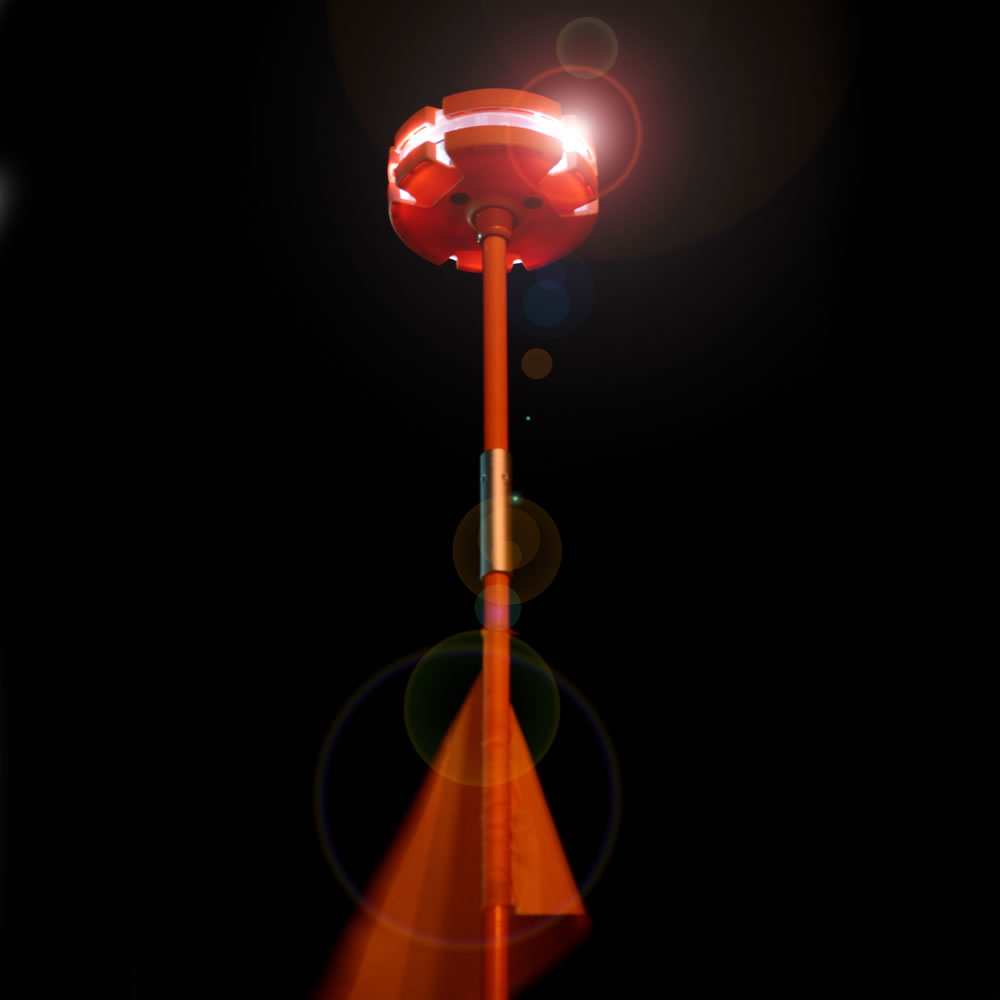 The 4 1/2' High Roadside Emergency Beacon 2