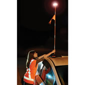 The 4' High Roadside Emergency Beacon.
