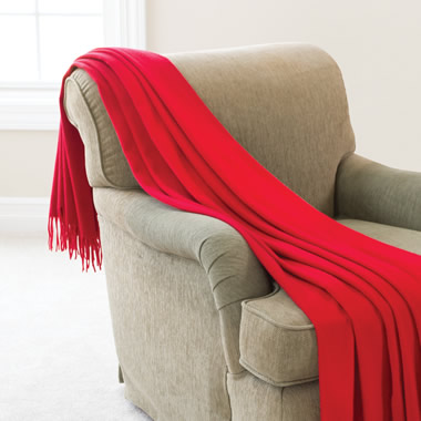The Silk Road Cashmere Throw