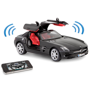 The iPhone Controlled Musical Mercedes SLS.