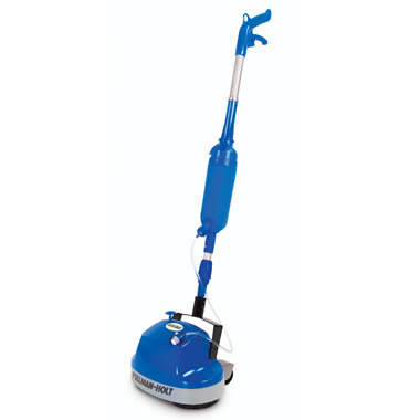 The Hard Floor Scrubber With Spray Applicator.