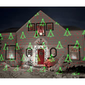 Virtual Holiday Patterns And Lights Porjector
