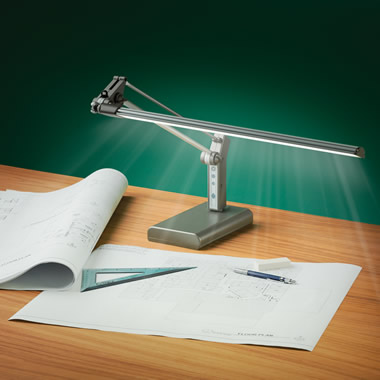The Eyestrain Reducing Task Lamp.