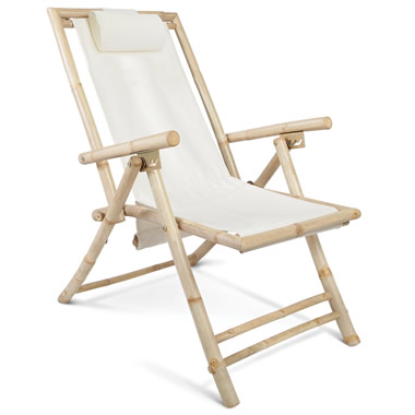 The Bamboo Beach Chair.