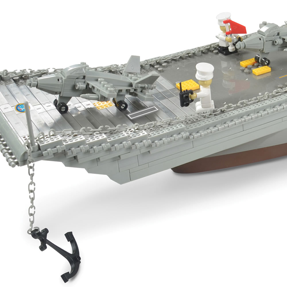 The 3 1/2-Foot Building Block Aircraft Carrier2
