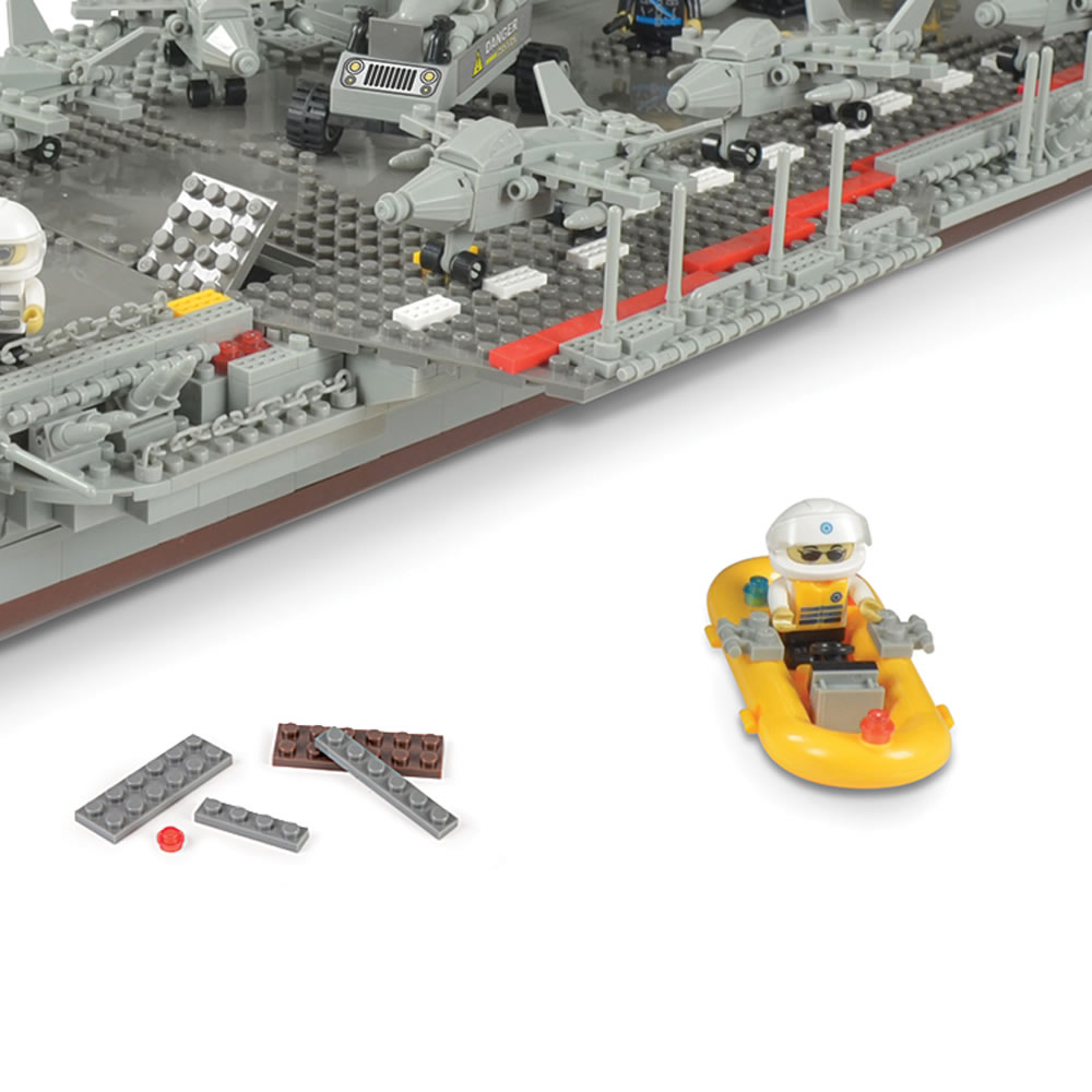The 3 1/2-Foot Building Block Aircraft Carrier4