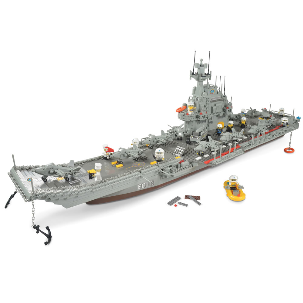 The 3 1/2-Foot Building Block Aircraft Carrier1