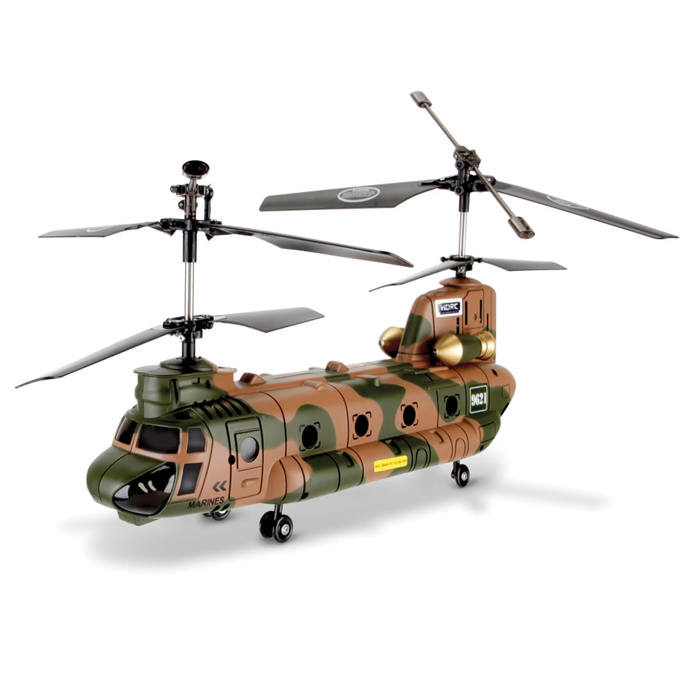 The Remote Controlled Chinook Helicopter 1