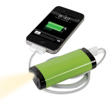 The One Year Smartphone Backup Battery (2400 mAh).