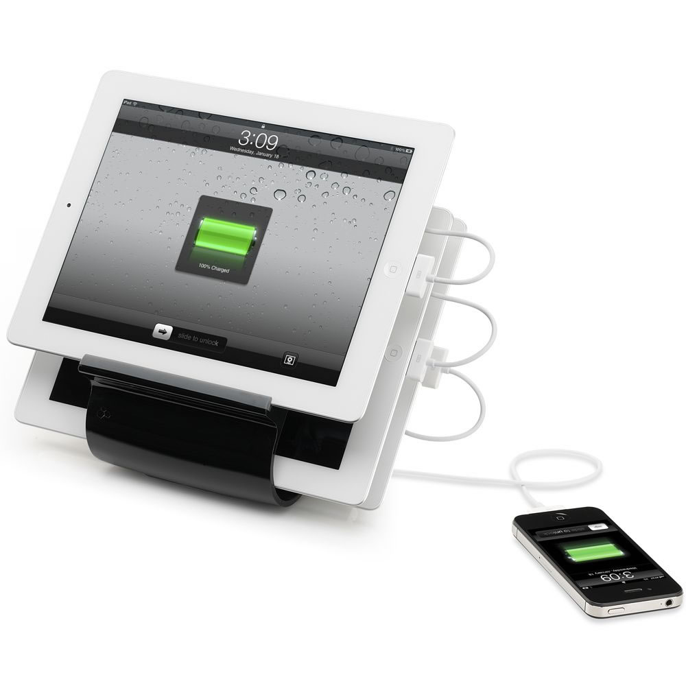 4 iPhone iPad Charging Hub