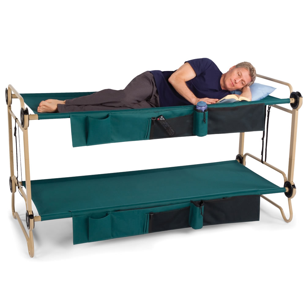 the foldaway adult bunk beds hammacher schlemmer