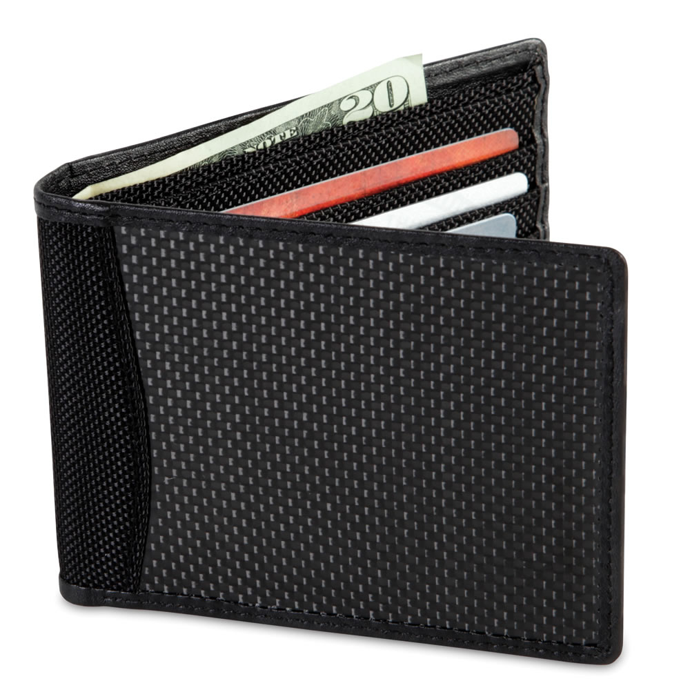 The Identity Theft Thwarting Carbon Fiber Wallet 1