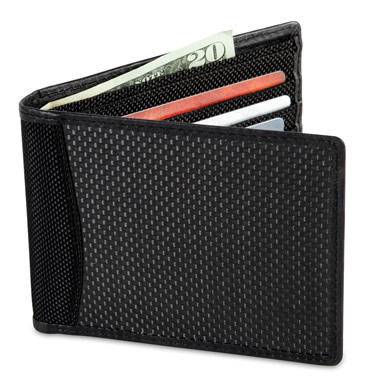 The Identity Theft Thwarting Carbon Fiber Wallet.