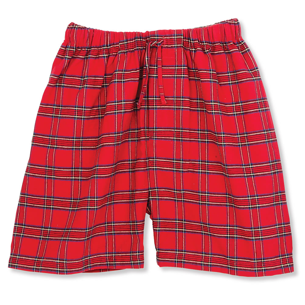 The Gentleman's Flannel Sleep Shorts 1